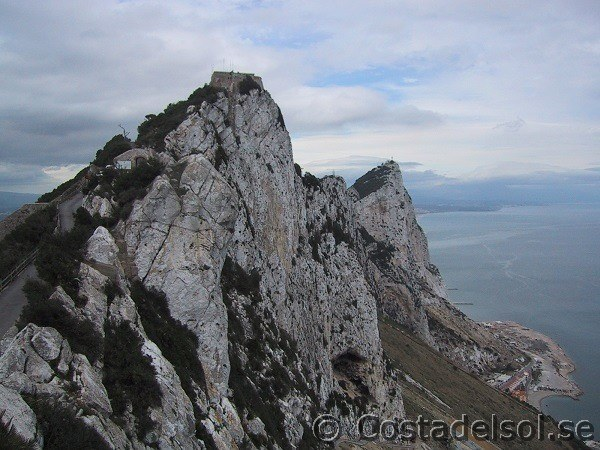 Klippan i Gibraltar