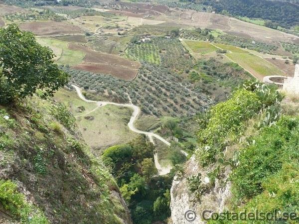 Ravinen El Tajo i Ronda