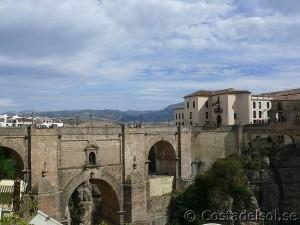 Bron över ravinen i Ronda