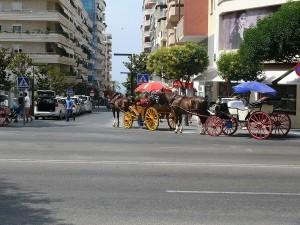 Huvudvägen i Marbella