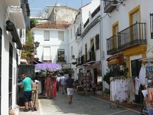 Gamla staden i Marbella