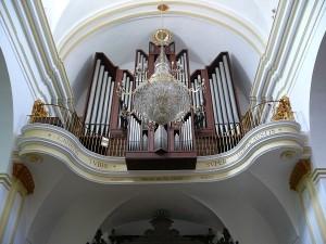 Modern orgel Santa Maria