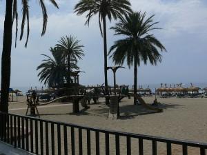 Stranden i Marbella