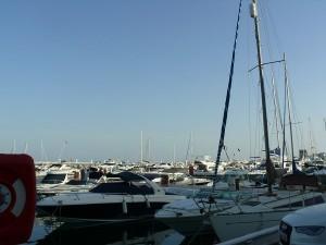 Hamnen i Puerto Banus