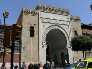 Matmarknaden i Malaga