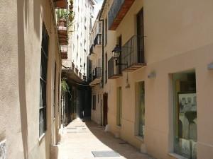 Trånga gränder i Malaga