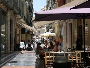Mysiga gränder i Malaga