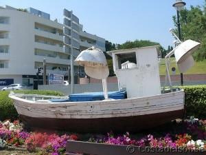 Fiskebåt i Estepona
