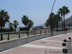Strandpromenaden i Estepona