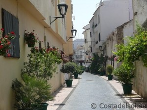 Gränd i Estepona