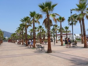Strandpromenaden Fuengirola