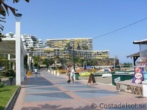 Strandpromenaden Torremolinos